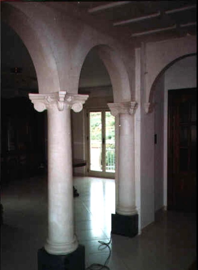 Foto colonne e archi in gesso di decorgessi 45498 - Archi in gesso per interni ...