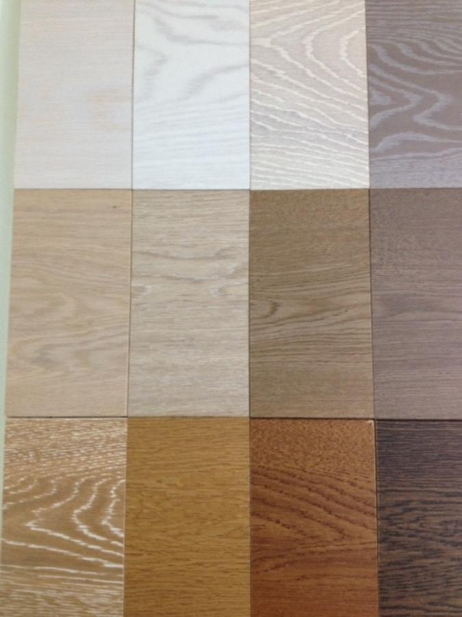 Foto colori base parquet prefinito di superfici milano for Parquet ikea colori