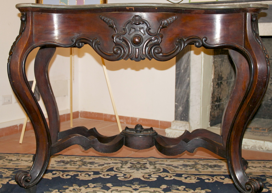 Foto console luigi filippo napoletana di antiquariato for Mobili luigi