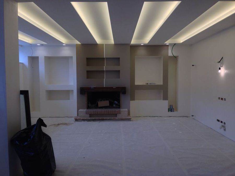 Favoloso Foto: Controsoffito In Cartongesso con Illuminazione Led di Rm  QA64