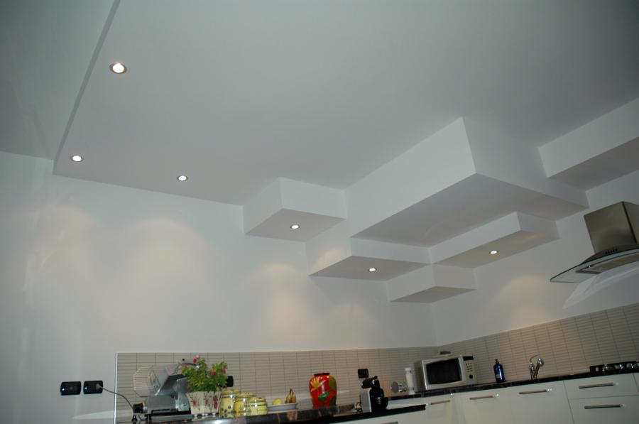 Foto controsoffitto cartongesso cucina de pyramid di paini stefano 59760 - Lavori in cartongesso in cucina ...