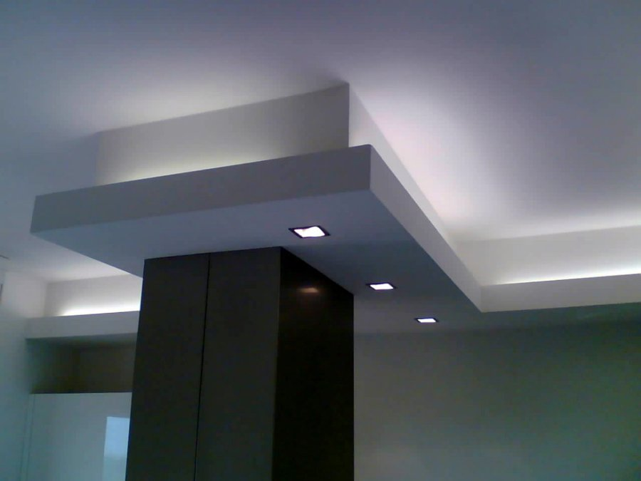 Foto controsoffitto con luce indiretta di il dado for Led controsoffitto