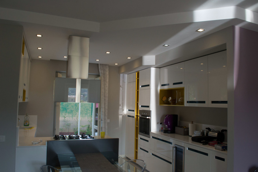Foto controsoffitto cucina di nicola 123518 - Controsoffitti in cartongesso cucina ...