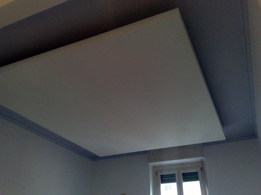 Foto controsoffitto in cartongesso di decor fantasy - Camera da letto in cartongesso ...