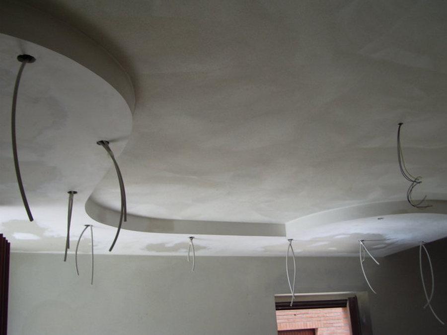 Foto controsoffitto ingresso sala di artdesign 217121 for Controsoffitto salone