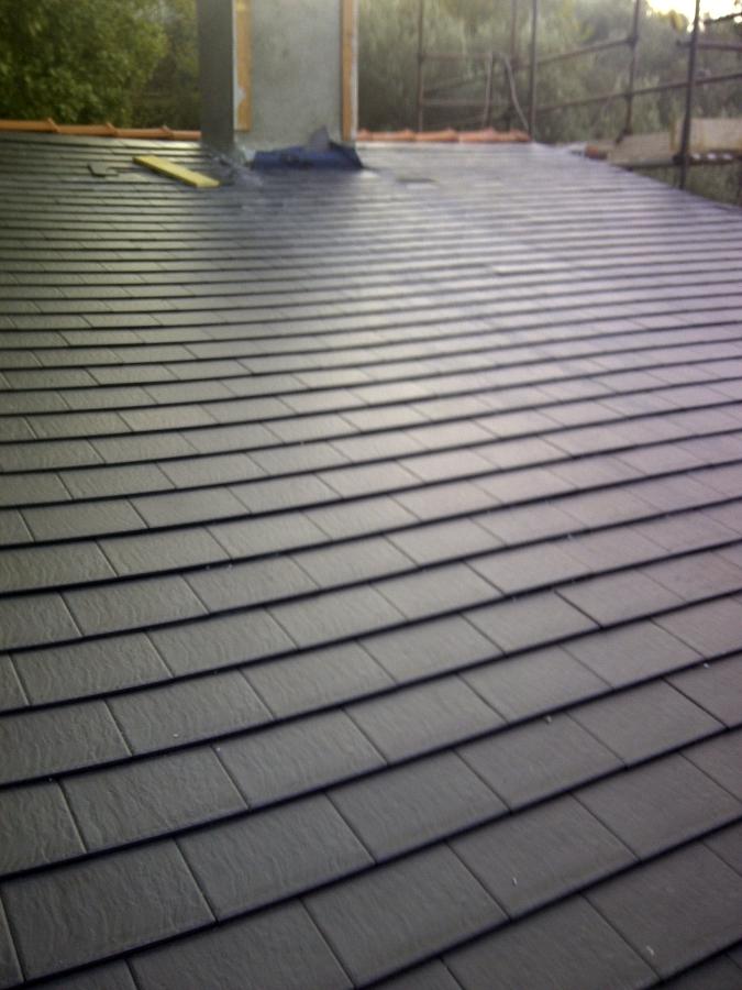 Foto copertura in ardesia di il tetto scarl 108787 - Copertura a tetto ...