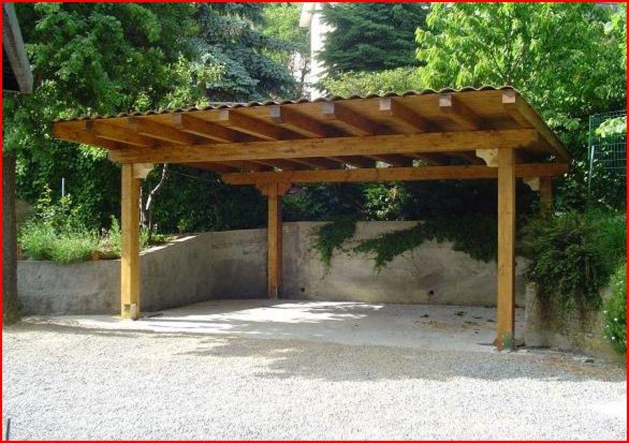 Foto copertura in lamellare per auto di edil2000dils for Tettoie in legno usate