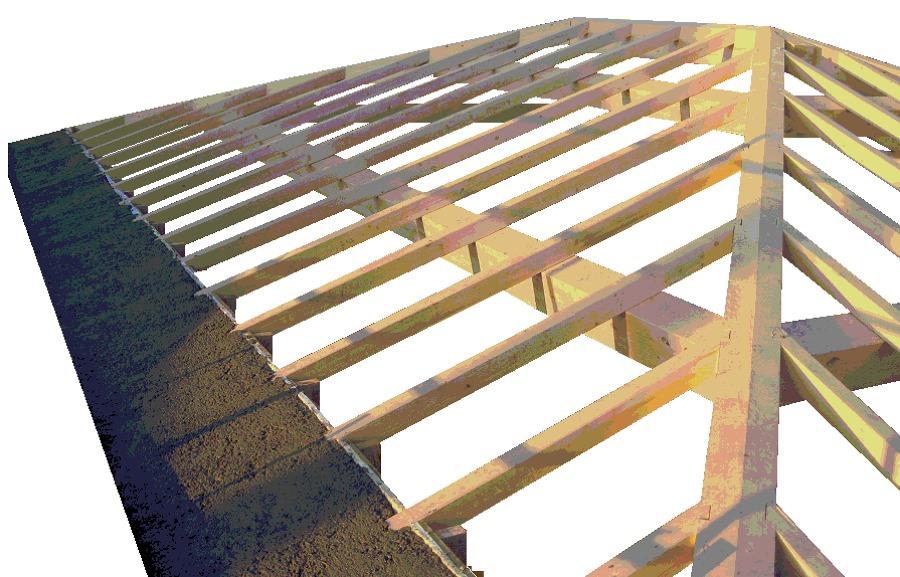 Foto coperture in legno lamellare di a t c edil m for Lamellare prezzi