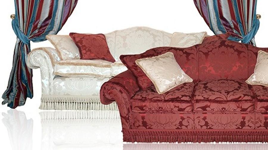 Foto coppia di divani con tenda de cosimo de luca for Consales arredamenti