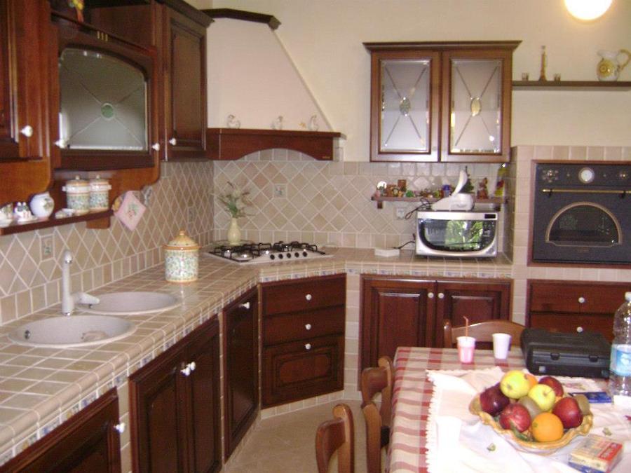 Foto costruzione cucina in muratura di mirabella giuseppe - Costruzione cucina ...
