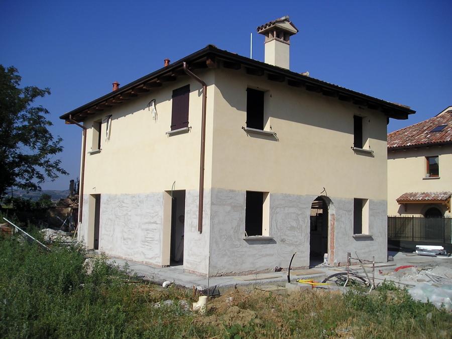 Foto costruzione di una casa singola a bologna di - Facciata di una casa ...