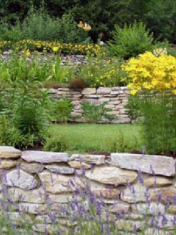 costruzione giardino bariera