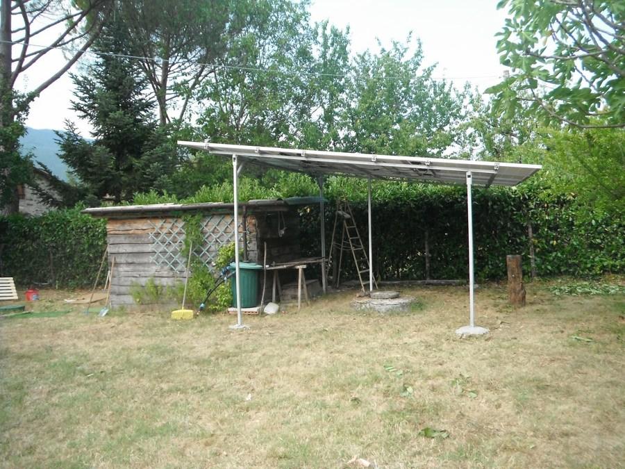 Costruzione tettoia + fotovoltaico
