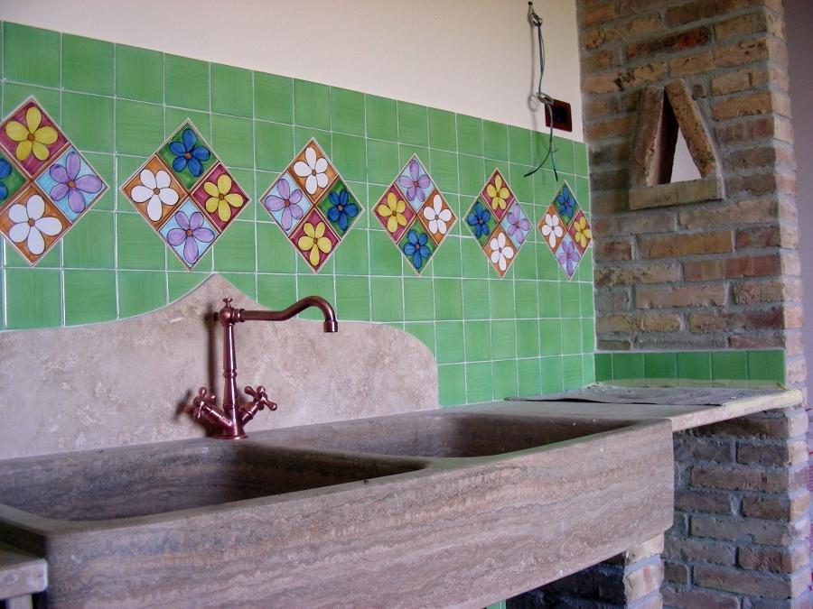 Creazione cucina in muratura