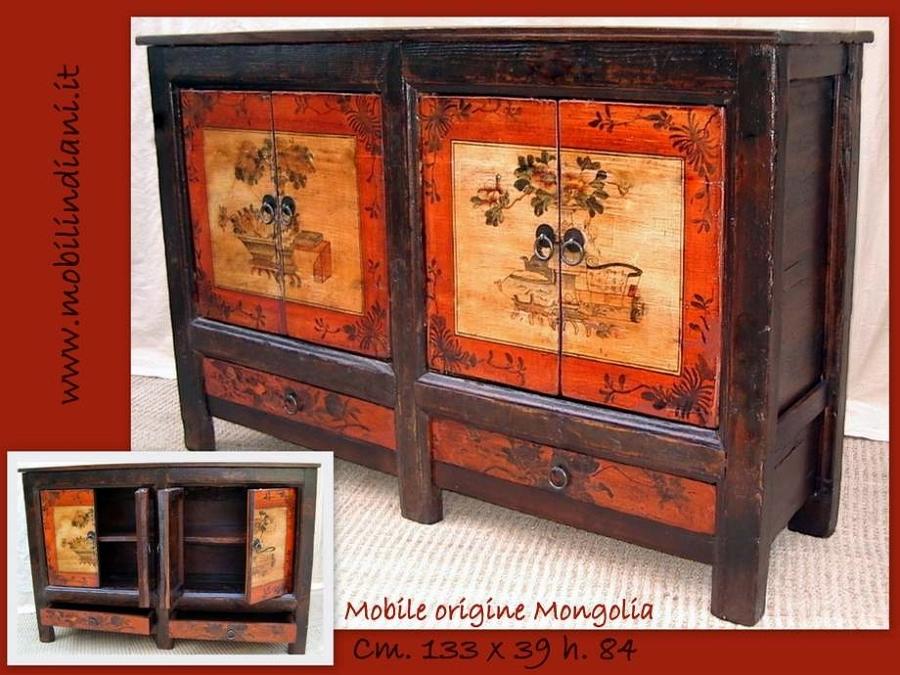 Foto credenza orientale dipinta di mobili etnici 113679 habitissimo - Mobili etnici prato ...