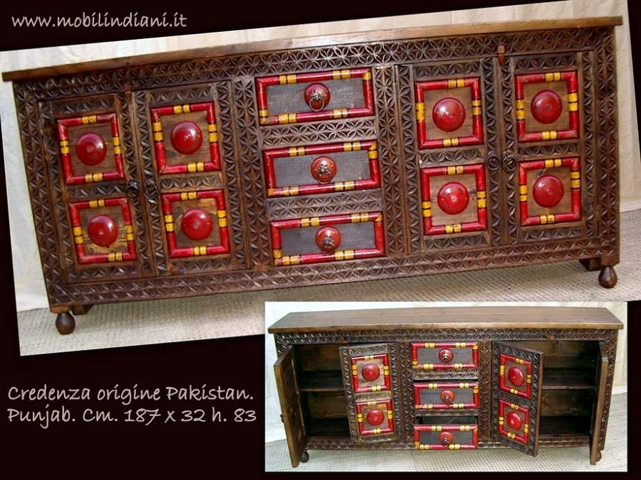 Foto credenza pakistan di mobili etnici 113682 habitissimo - Mobili etnici prato ...