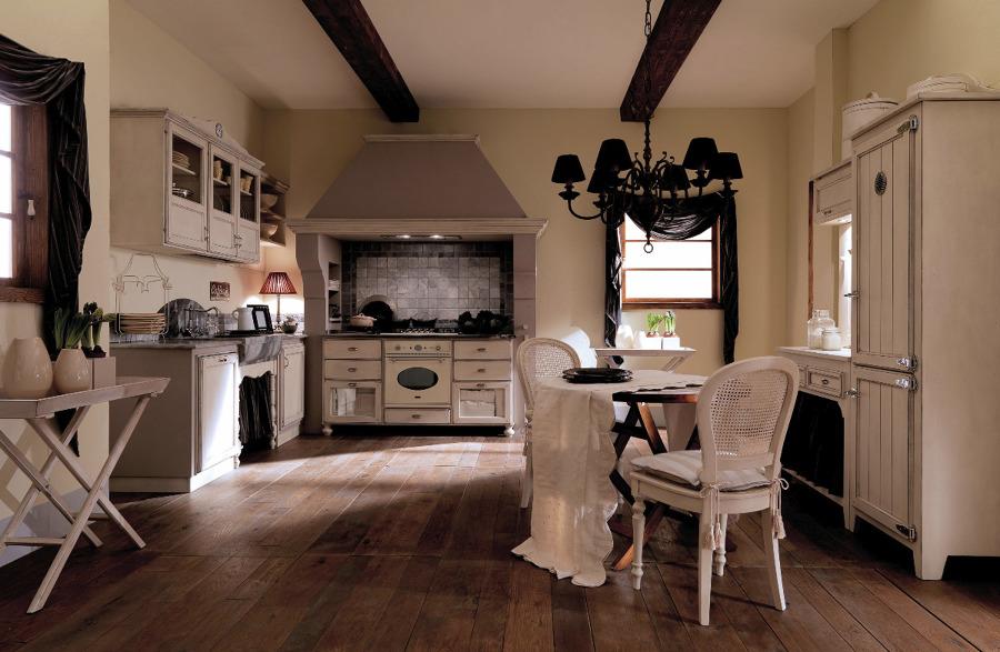 Foto cucina chic di mobili paganelli 40441 habitissimo - Foto cucine country ...