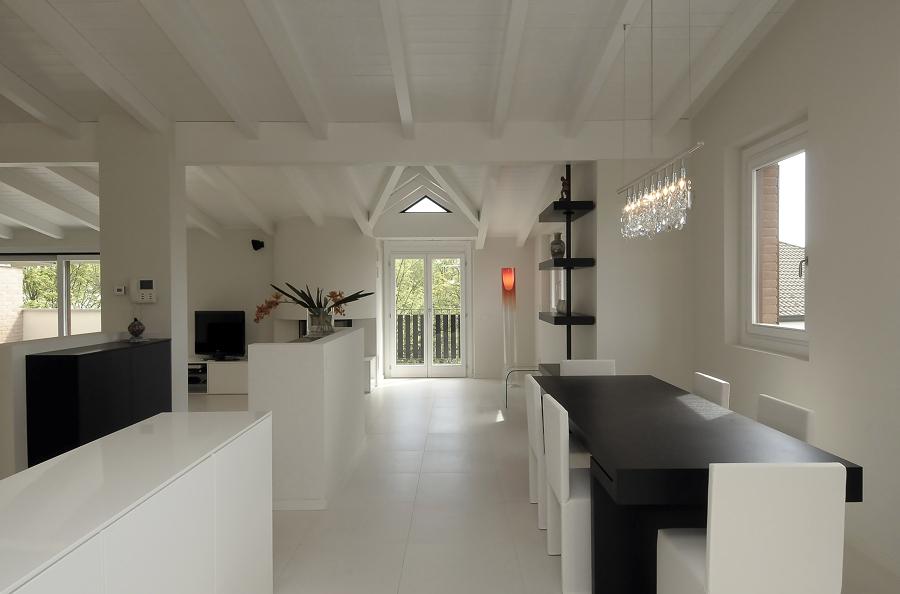 cucina con sala