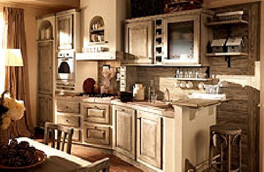Cucina velia laccata: cucine country/vintage in vendita da service ...
