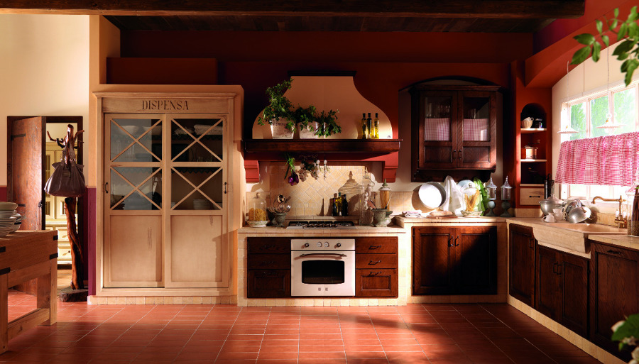 Foto: Cucina Country di Mobili Paganelli #40442 - Habitissimo