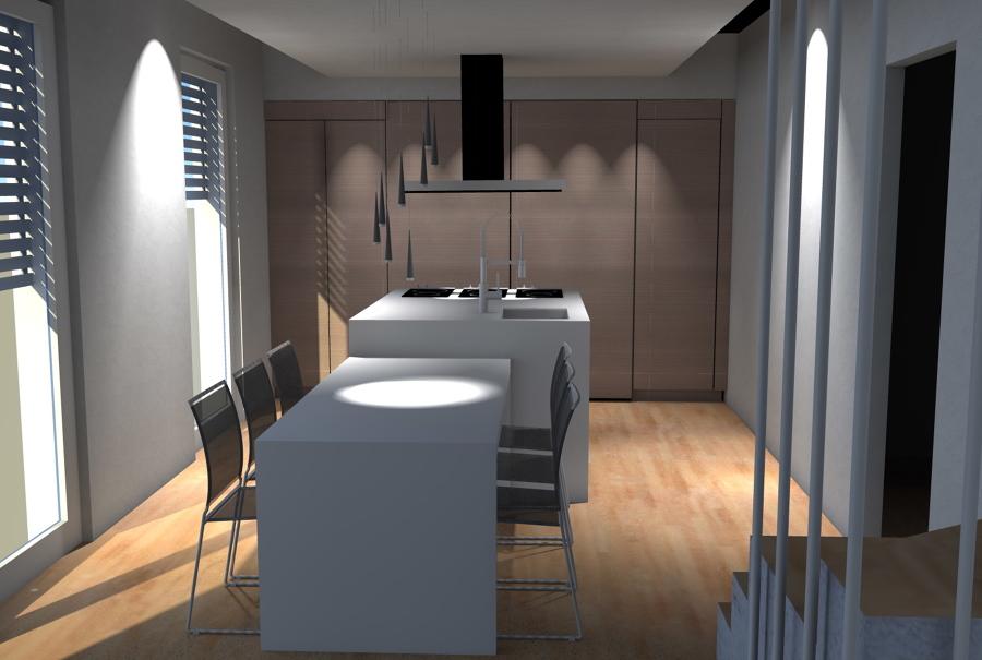 Foto cucina design isola foto1 di arredare oggi for Isola cucina design