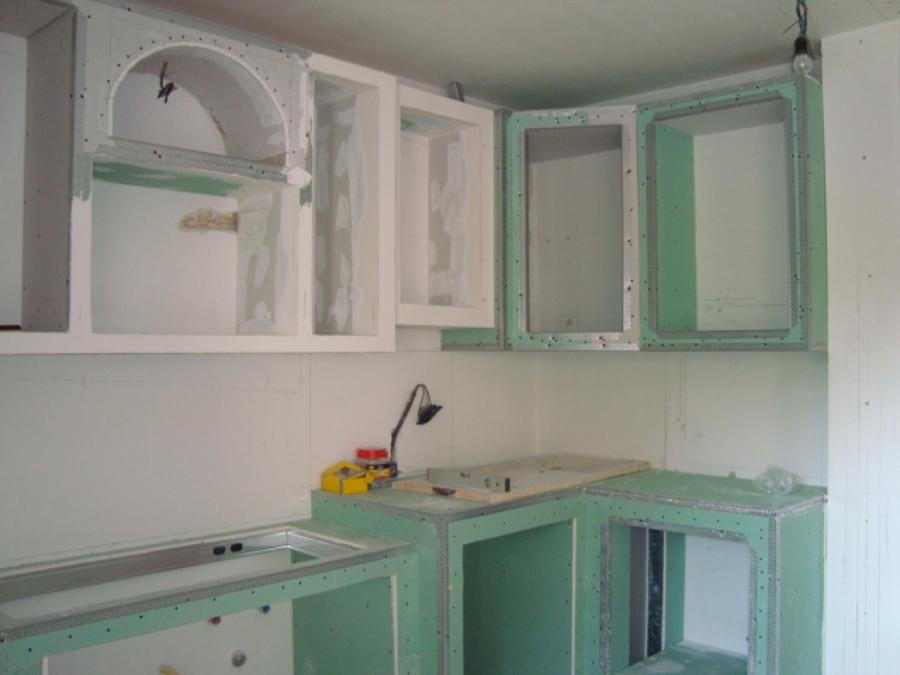 Foto cucina in muratura in cartongesso part 2 di iride di - Foto cucina in muratura ...