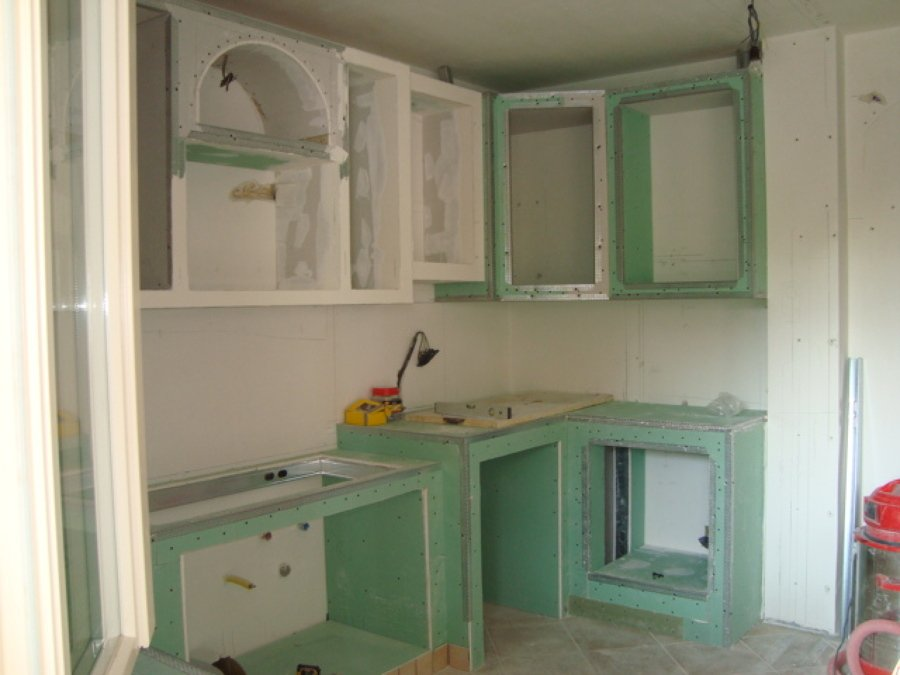 Foto cucina in muratura in cartongesso part 3 di iride di for Esempi di cucine in muratura
