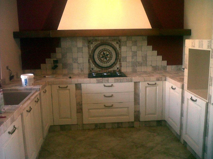 cucina in muratura...una roba mai vista!!!