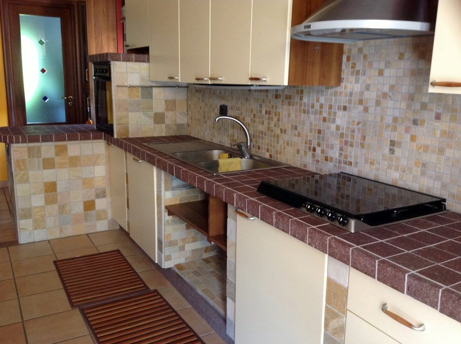 Foto cucina in muratura di europorfidi sas 144965 - Cucina da esterno in muratura ...