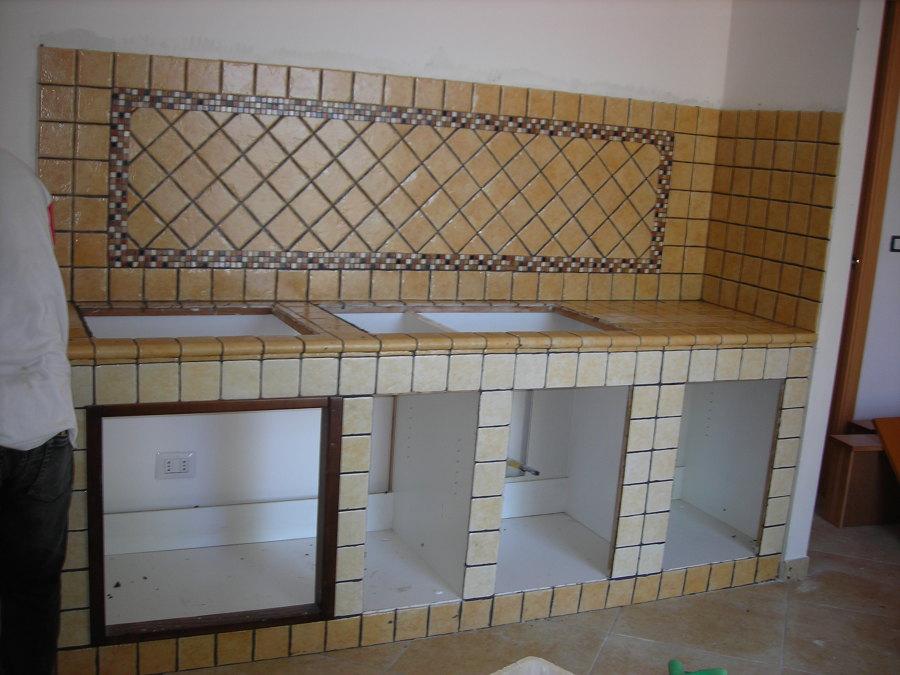 Foto: Cucina In Muratura di Modulo C Srl #166265 - Habitissimo