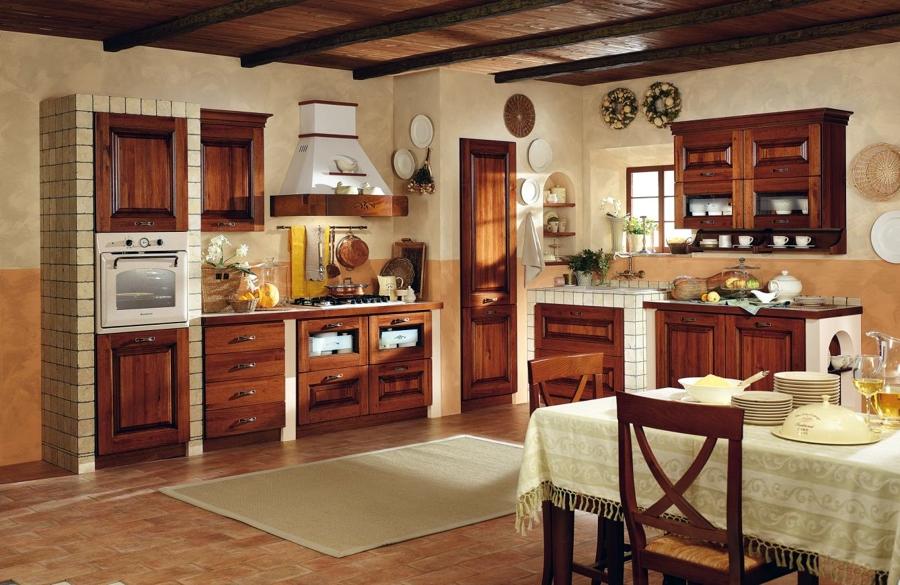 Foto cucina in muratura di 56379 - Cucina per tavernetta ...