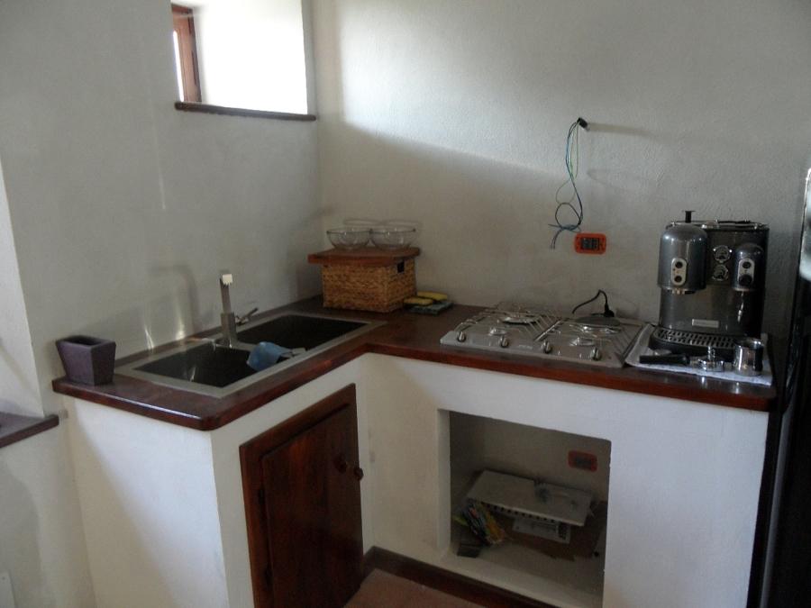 Foto cucina in muratura di falegnameria canale nicola - Piccole cucine in muratura ...