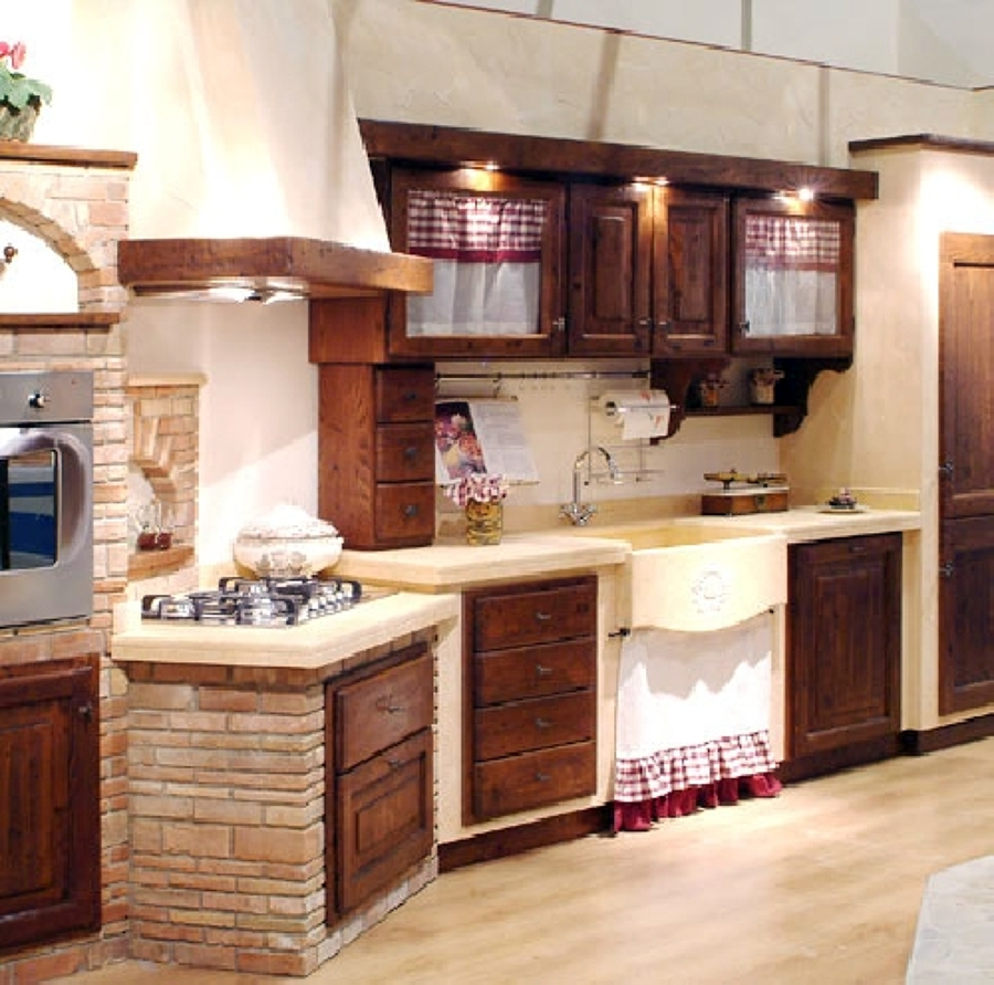 Foto cucina in muratura di caminetti carfagna 62391 habitissimo - Foto cucine in muratura ...