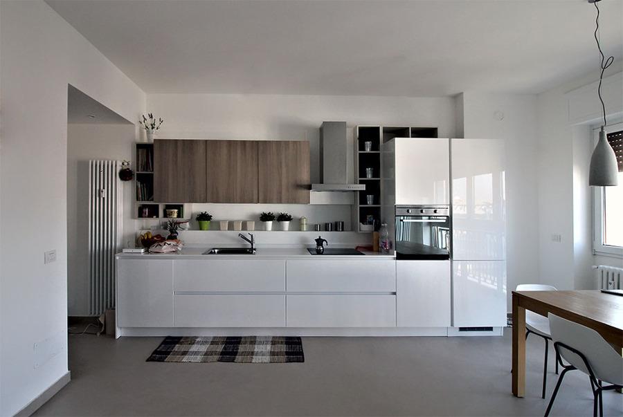 foto cucina lineare di artigiana extra srl 357482