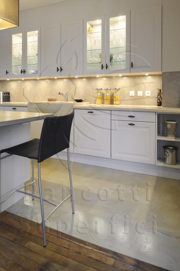 Foto cucina pavimento e paraschizzi di pancotti superfici 186441 habitissimo - Paraschizzi cucina ...