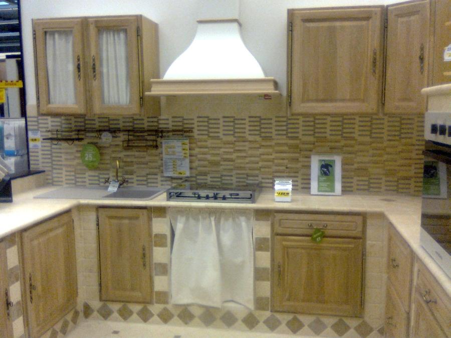 Foto cucine in muratura di ristrutturazioni edili dipinture tetti e gazebi in legno 52228 - Foto cucine in muratura ...