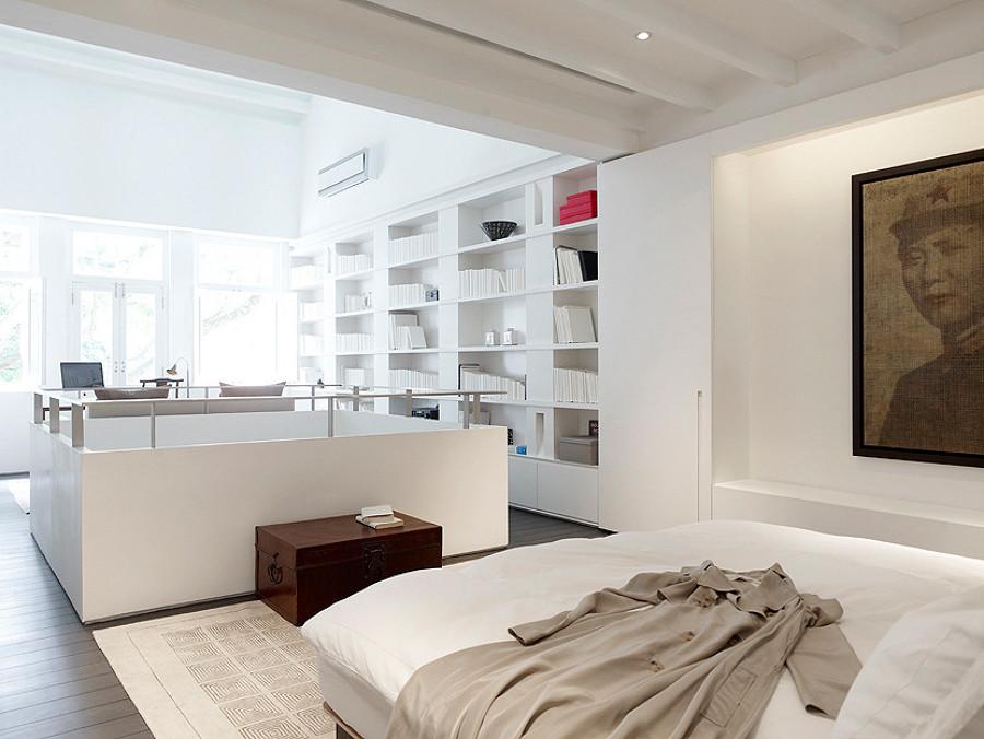 Una casa in bianco