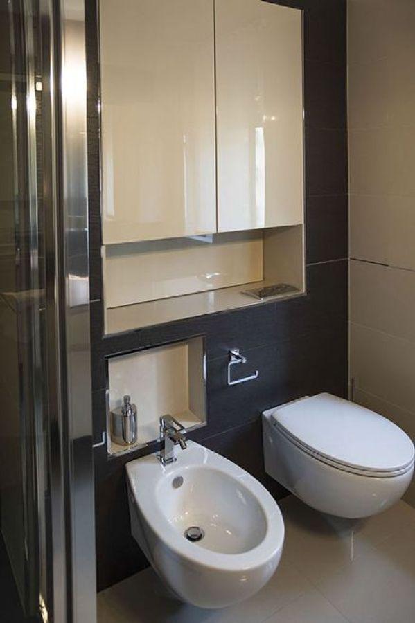 Foto bagno con nicchia di progettiamoconte 304935 - Piastrelle su cartongesso ...