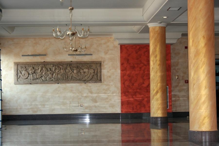 Decorazione e pitturazione sala