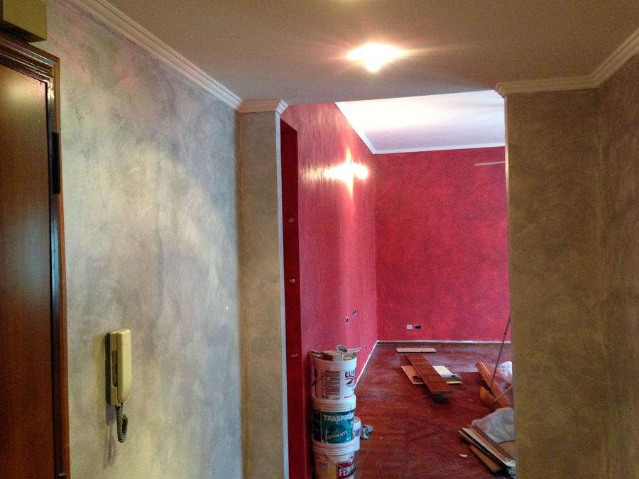 Pittura Edile 2010 Decorazioni effetto sabiato
