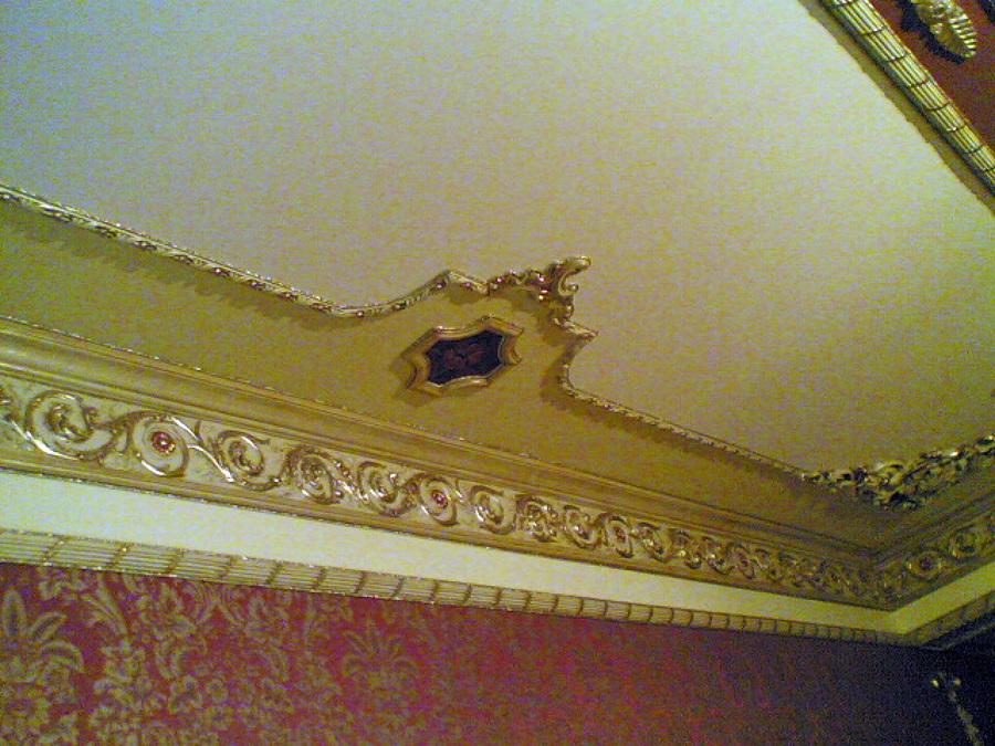 Foto decorazioni in gesso con carta da parati de simpat - Decorazioni in gesso ...