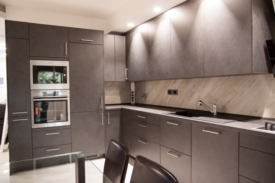 Foto design e illuminazione cucina di caon nuovi geometri 250231 habitissimo - Illuminazione sottopensile cucina ...