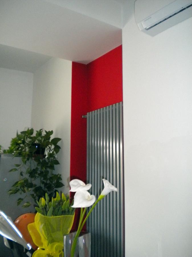 Dettaglio finitura (appartamento in Roma)