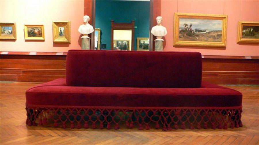 divano galleria nazionale roma
