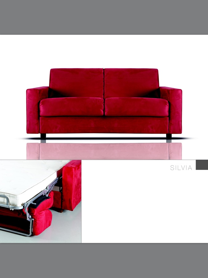 Foto divano letto con rete eletrosaldata di bmdesign for Divano letto rete elettrosaldata