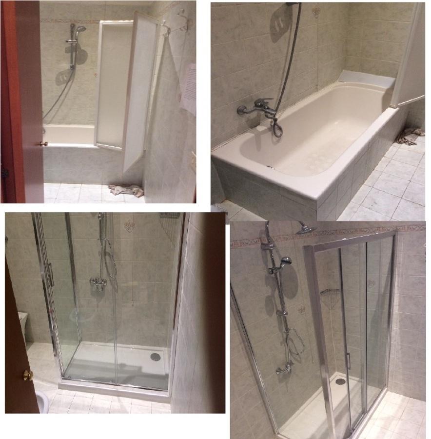 vasca in doccia con riduzione