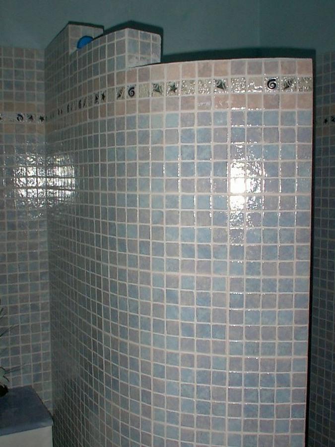 Foto doccia in muratura di progettazione e ristrutturazione locali superfici d autore 77643 - Cabina doccia muratura ...
