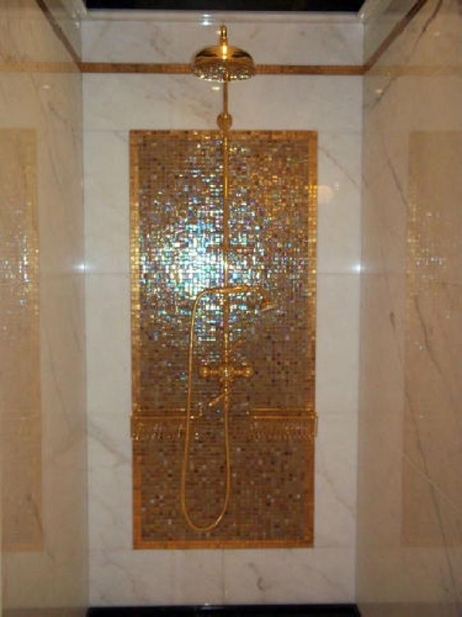 Foto: Doccia Mosaico In Oro di Style House Ristrutturazioni #74292 ...