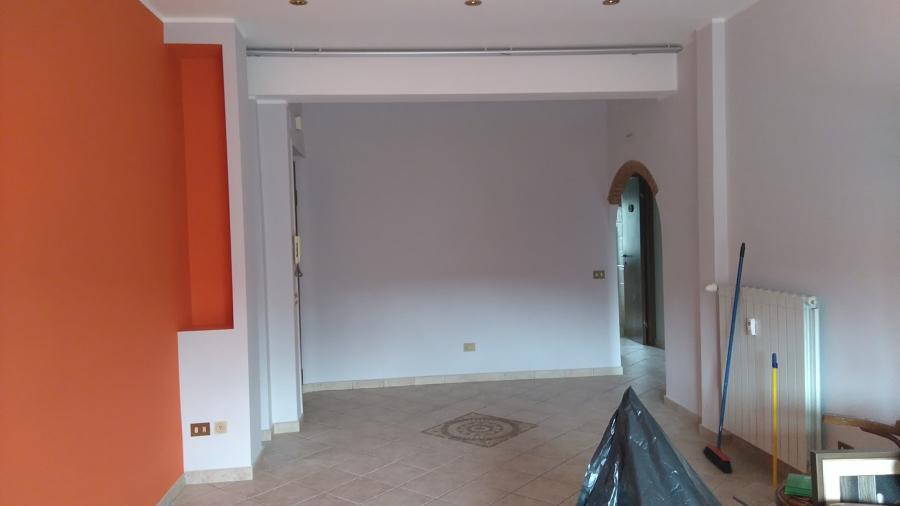 Foto: Pittura Pareti Colorate Salone di Giuseppe Perelli #410866 - Habitissimo