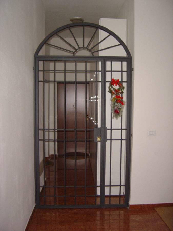 porte di sicurezza in ferro